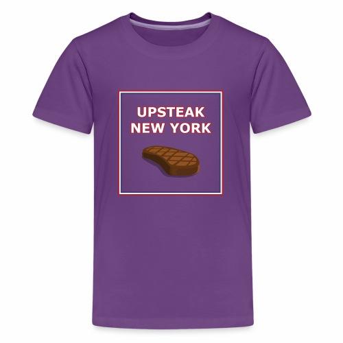 Upsteak New York   July 4 Edition - Kids' Premium T-Shirt