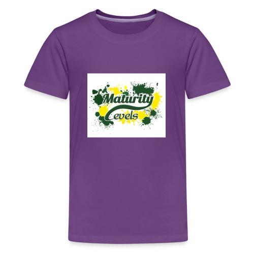 Maturity Levels Logo - Kids' Premium T-Shirt