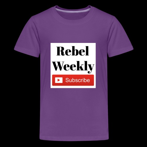 Rebel Weekly - Kids' Premium T-Shirt