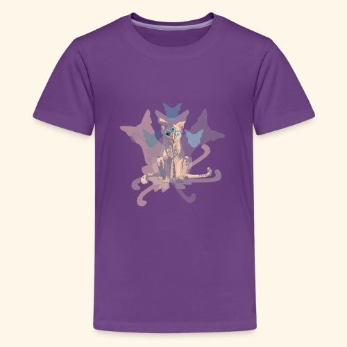 Feline of Obscure Symmetry - Kids' Premium T-Shirt
