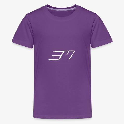 3M White - Kids' Premium T-Shirt