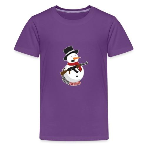 PRODBYSNOWMAN - Kids' Premium T-Shirt