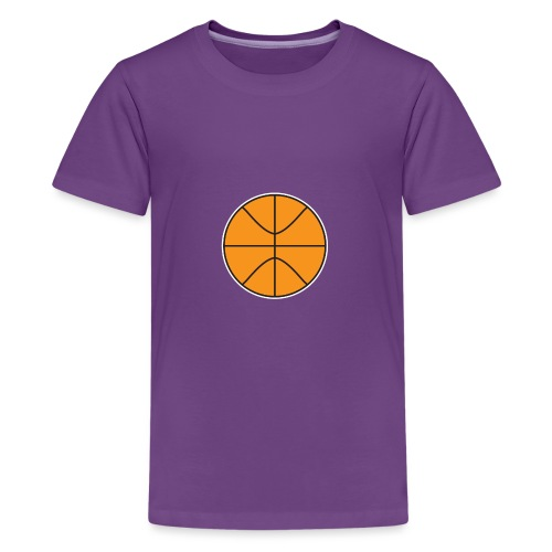 Plain basketball - Kids' Premium T-Shirt