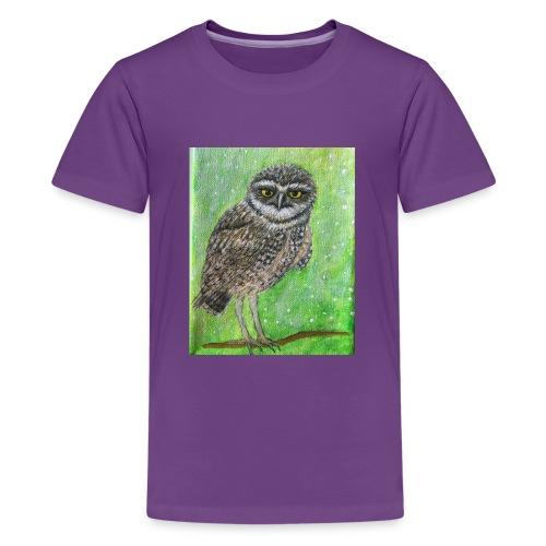 IMG 8818 Wise Owl - Kids' Premium T-Shirt