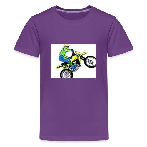 moto bikes - Kids' Premium T-Shirt