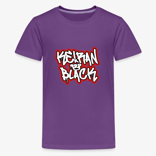 KB Tritone Wordmark - Kids' Premium T-Shirt