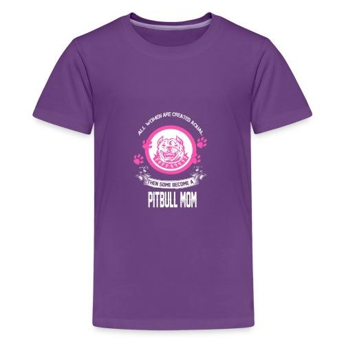 pitbullmom - Kids' Premium T-Shirt