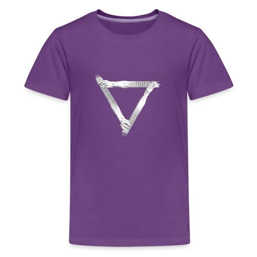 guitar arms triangle - Kids' Premium T-Shirt