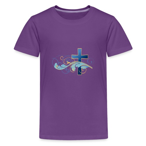 Blue cross - Kids' Premium T-Shirt