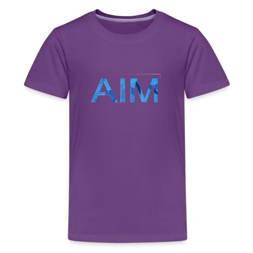 AIM logo - Kids' Premium T-Shirt