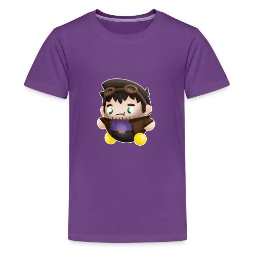 Poet Bumpkin png - Kids' Premium T-Shirt
