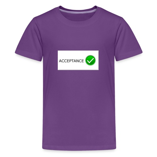 accpetnace_logo - Kids' Premium T-Shirt