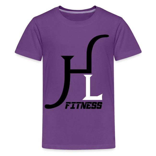 HIIT Life Fitness logo white