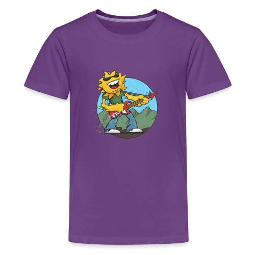 sun guitar rocker v1 t - Kids' Premium T-Shirt