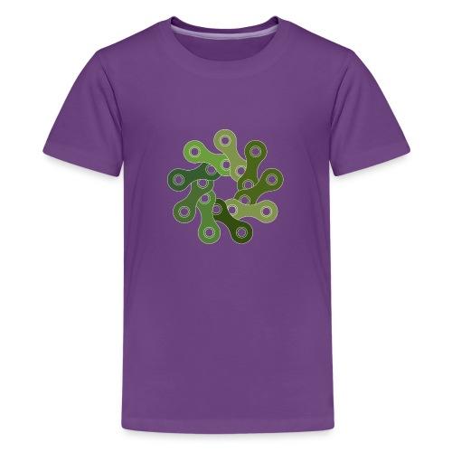 Chain Link Pattern - Kids' Premium T-Shirt