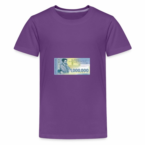 Québec 1million dollars bill - Kids' Premium T-Shirt