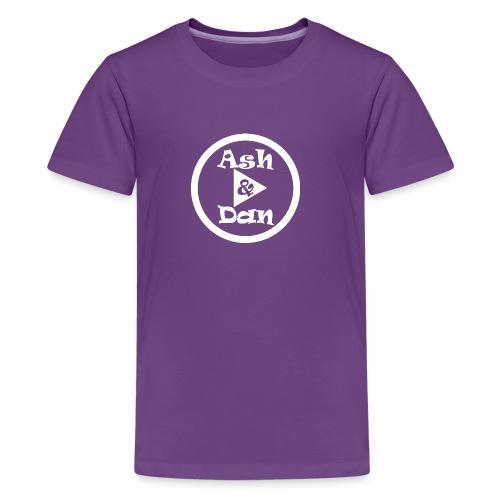 Ash and Dan YouTube Channel - Kids' Premium T-Shirt