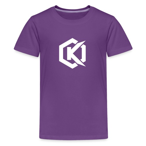 Logo de Kunsel sur Twitch et Ylutube - Kids' Premium T-Shirt