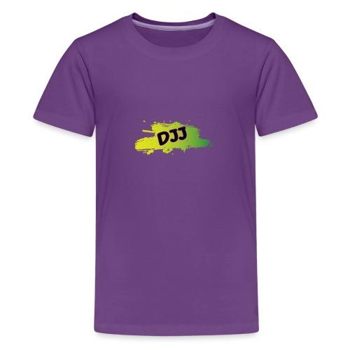 DJJ Green splash - Kids' Premium T-Shirt