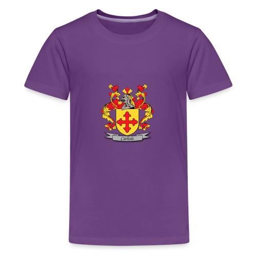 Carlisle Family Crest - Kids' Premium T-Shirt