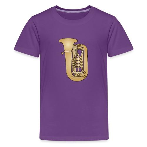 Tuba brass - Kids' Premium T-Shirt