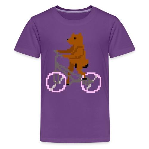 Bear Bike - Kids' Premium T-Shirt