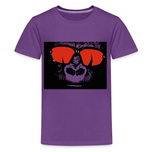 gorilla primate ape - Kids' Premium T-Shirt