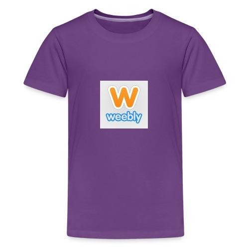 weebly logo - Kids' Premium T-Shirt