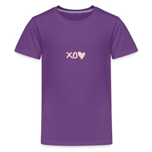 xo <3 - Kids' Premium T-Shirt