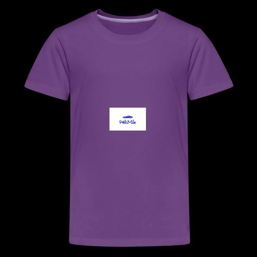 Blue 94th mile - Kids' Premium T-Shirt