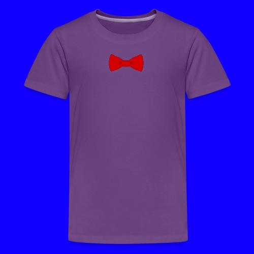 red bow tie - Kids' Premium T-Shirt