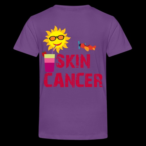 SKIN CANCER AWARENESS - Kids' Premium T-Shirt