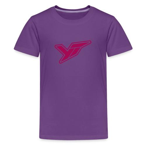 YT Industries logo - Kids' Premium T-Shirt