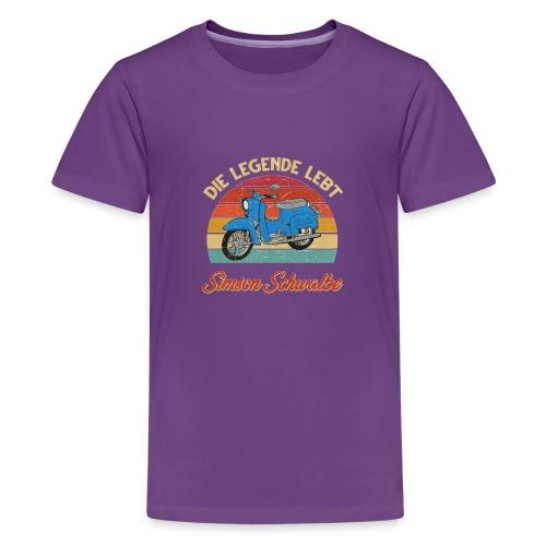 Simson Schwalbe Vespa - Kids' Premium T-Shirt