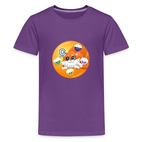 The Babyccinos The letter С - Kids' Premium T-Shirt