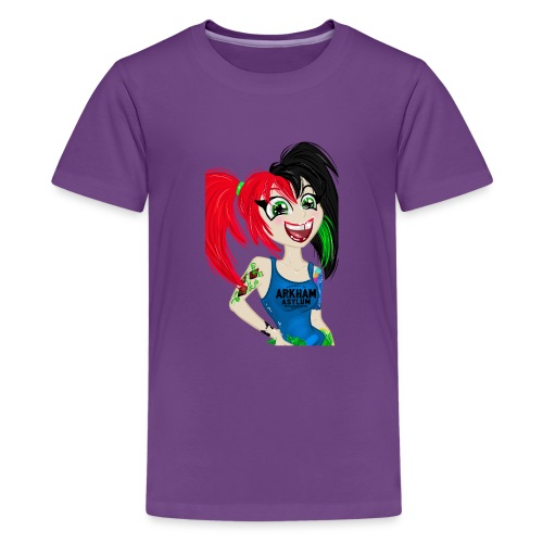 Crazy Psycho Girl - Kids' Premium T-Shirt