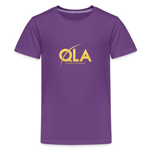 quantum leap advantage QLA - Kids' Premium T-Shirt