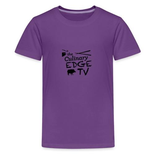CETV Black Signature - Kids' Premium T-Shirt