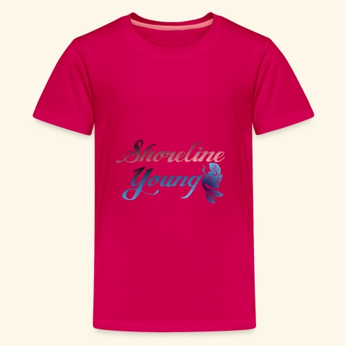 Shorlinepinkblue - Kids' Premium T-Shirt
