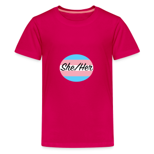 She/Her - Kids' Premium T-Shirt