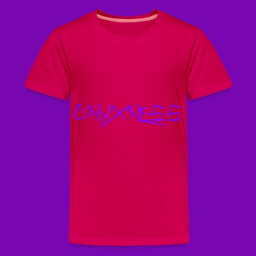 OnyxNess (Purple) - Kids' Premium T-Shirt