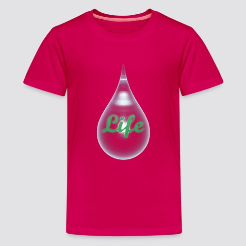 The drops of life - Kids' Premium T-Shirt