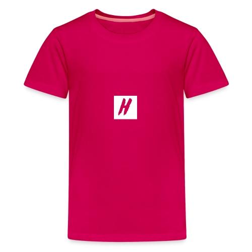 White HMF Logo - Kids' Premium T-Shirt