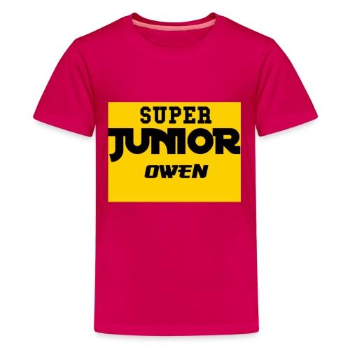 SJO Big DF text - Kids' Premium T-Shirt