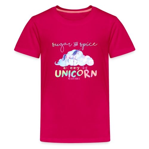 KIDS Everything Unicorn Shirt - Kids' Premium T-Shirt