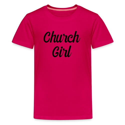 church girl - Kids' Premium T-Shirt