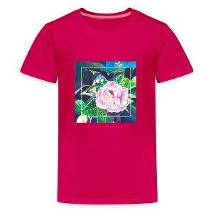 Camellia Watercolor - Kids' Premium T-Shirt