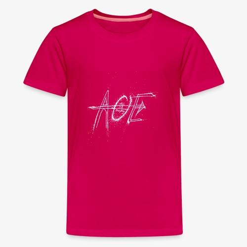 AOE Logo M1 White - Kids' Premium T-Shirt