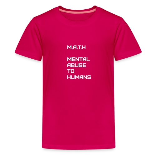 Math Alt - Kids' Premium T-Shirt