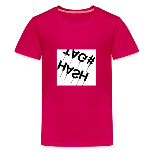 Hash tag T - Kids' Premium T-Shirt